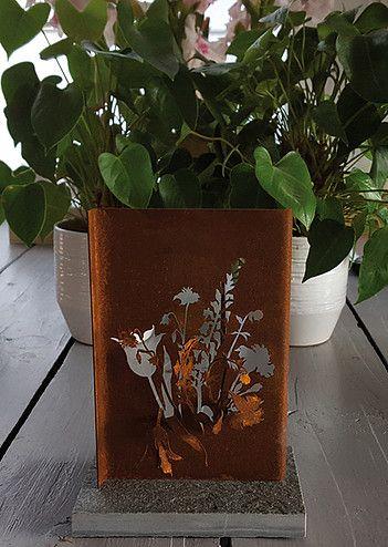 Een Memorosa gedenkmonument voor thuis | Vind meer inspiratie over het afscheid, de uitvaart en het rouwen op http://www.rememberme.nl