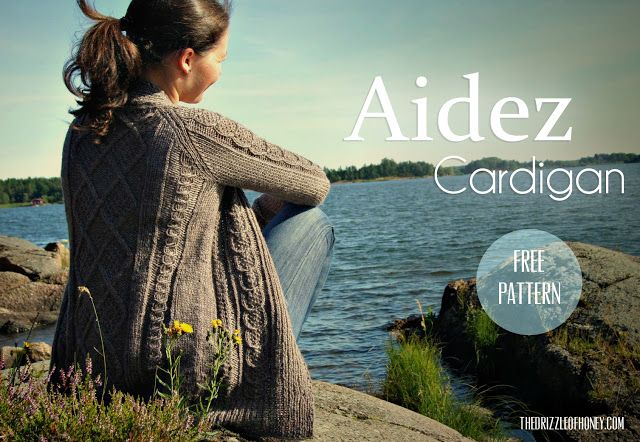 The Drizzle of Honey: Aidez Cardigan-free Cirillia Rose for Berroco pattern. I have been avoiding knitting this due to the bulky weight yarn requirement- but this blog solves that problem for me nicely.Thank-you!