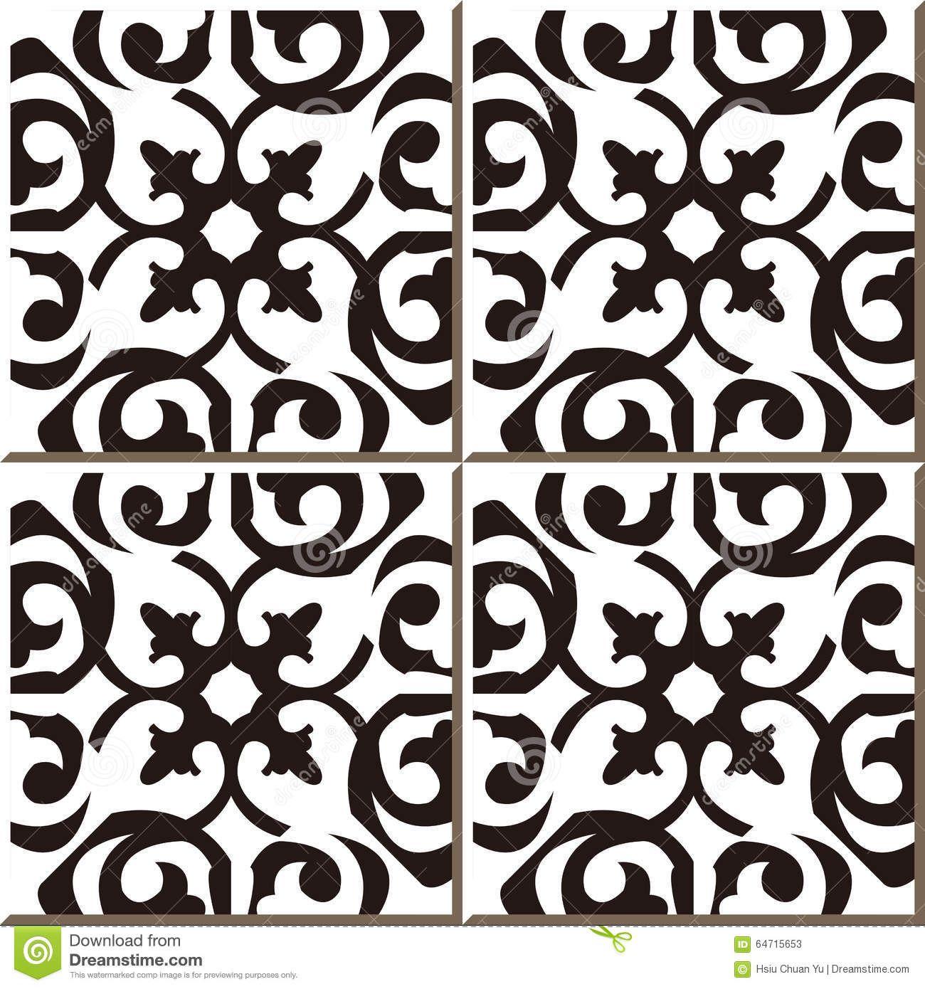 Image result for moroccan bathroom tiles black white | Bathroom ...