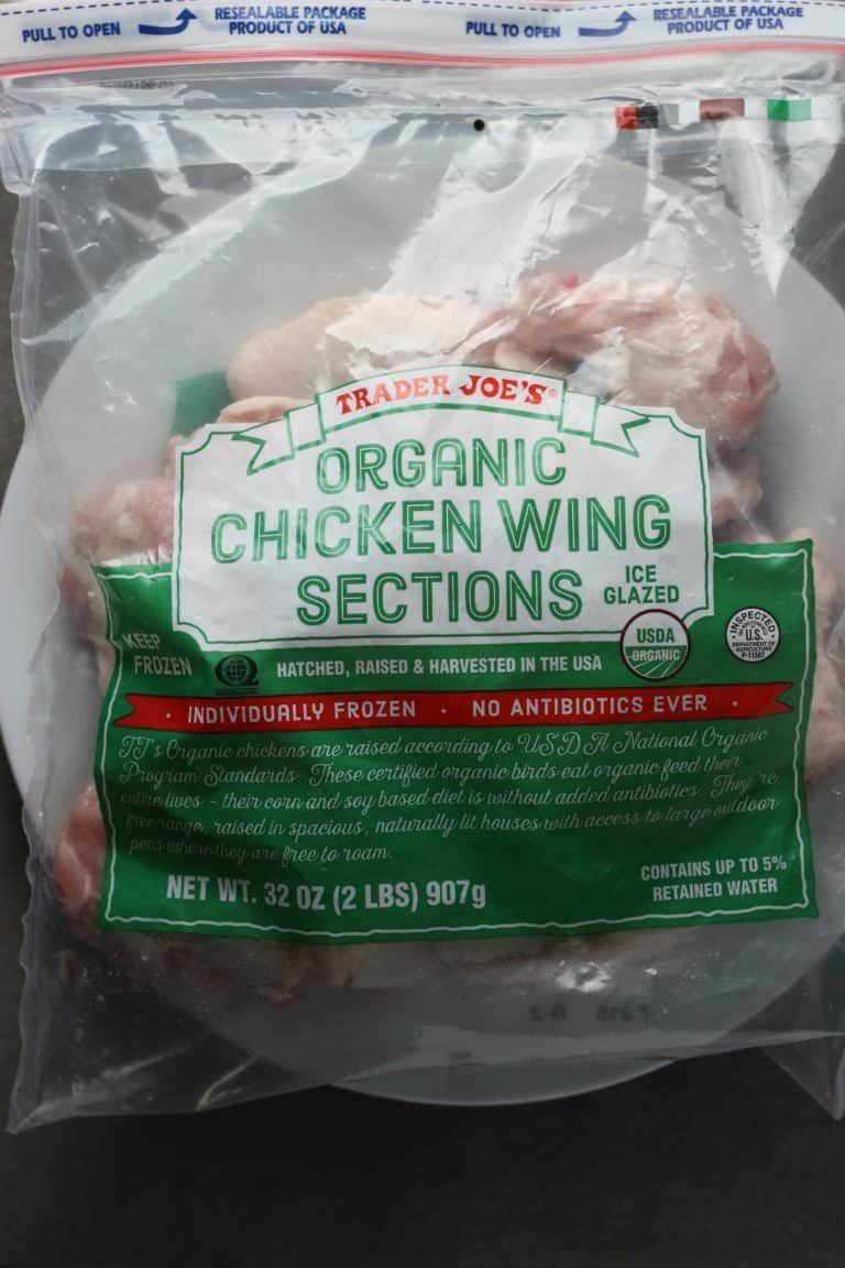 Trader Joe's Organic Chicken Wing Sections   Trader Joe's