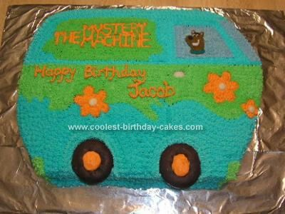 Coolest Scooby Doo Mystery Machine Cake Scooby Doo Cake Cool