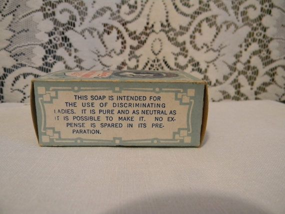 Antique Mirabeau Toilet Soap . Vintage Soap by Thirdxsacharm