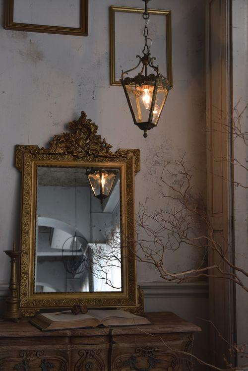 Photo of 4面ランタン型ランプ.18 IA0319253 アンティーク家具のAntiques*Midi 【アンティークスミディ】