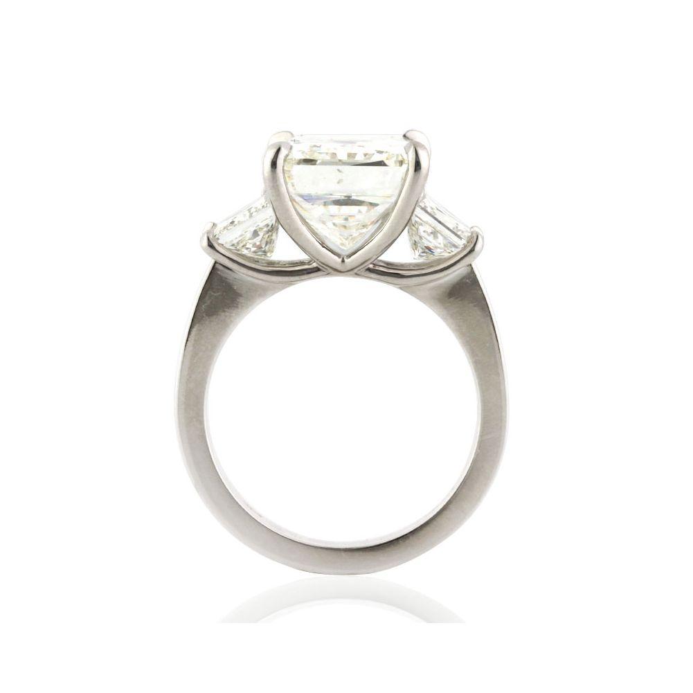 Ct radiant cut diamond engagement ring engagement