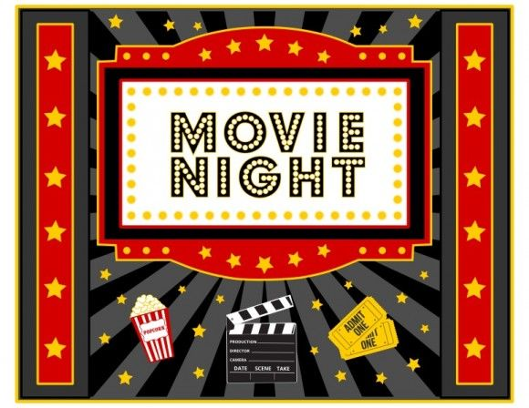 Free Movie Night Party Printables By Printabelle  Night Parties