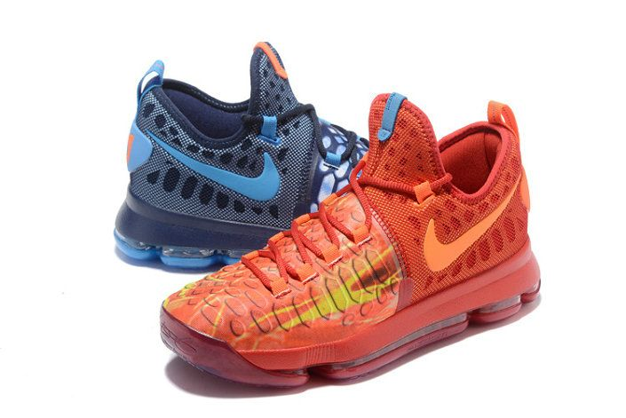 8e76767872bb Kevin Durant KD 9 What The Kevin Durant KD Fire   Ice Deep Royal Blue Photo