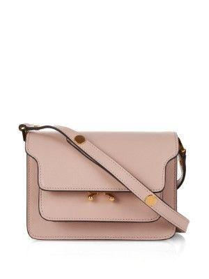 Trunk Mini leather shoulder bag  c8634f675135e