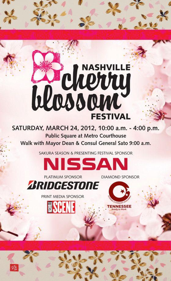 Nashville Cherry Blossom Festival Celebrate Japan Food Shopping Music Sumo Wrestling For The Kids Toys Games Cherry Blossom Festival Nashville Festival