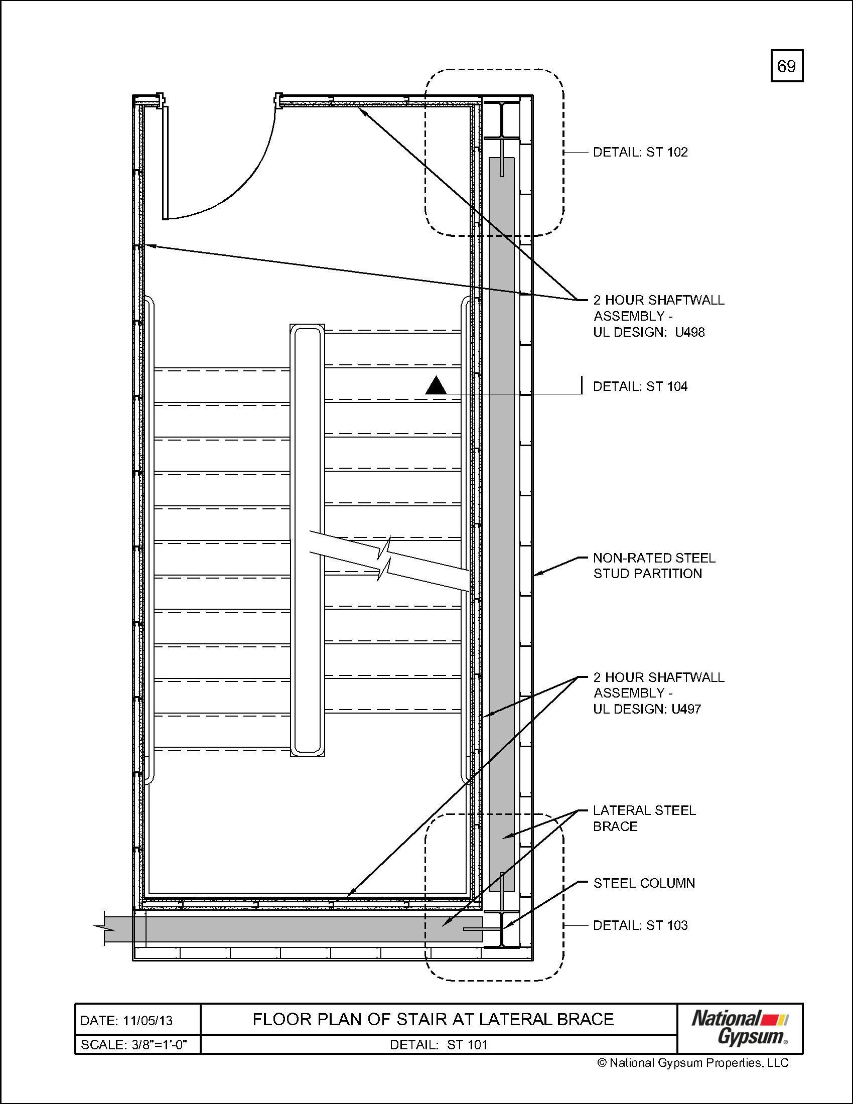 Welcome National Gypsum Steel Columns Floor Plans 13th Floor