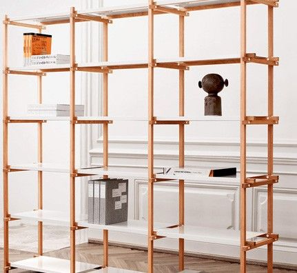 Aufbewahrung Regale hay woody sideboard industrial design interiors shelves and shelving