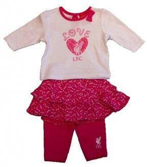 aa5eea50ae0 Liverpool Baby Girl Top