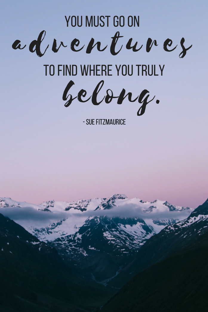 Travel Quotes | Adventure begins when you travel outside ...