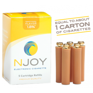 NJOY Electronic Cigarette Cartridges Refills from NJOY | Go