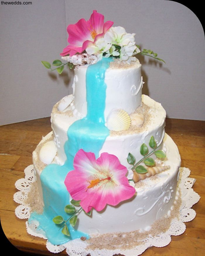 tropical themed wedding cakes pretty hawaiian wedding cake catering 21273