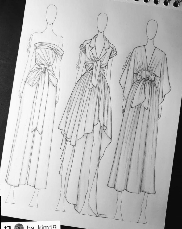 12 Fashion Design Sketches Illustrations Portfolio De Moda Desenhos De Moda Designers De Moda