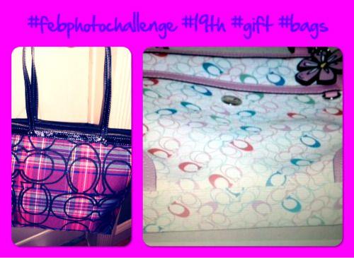 #febphotochallenge #19th #gift #bags - I love ♥♥♥