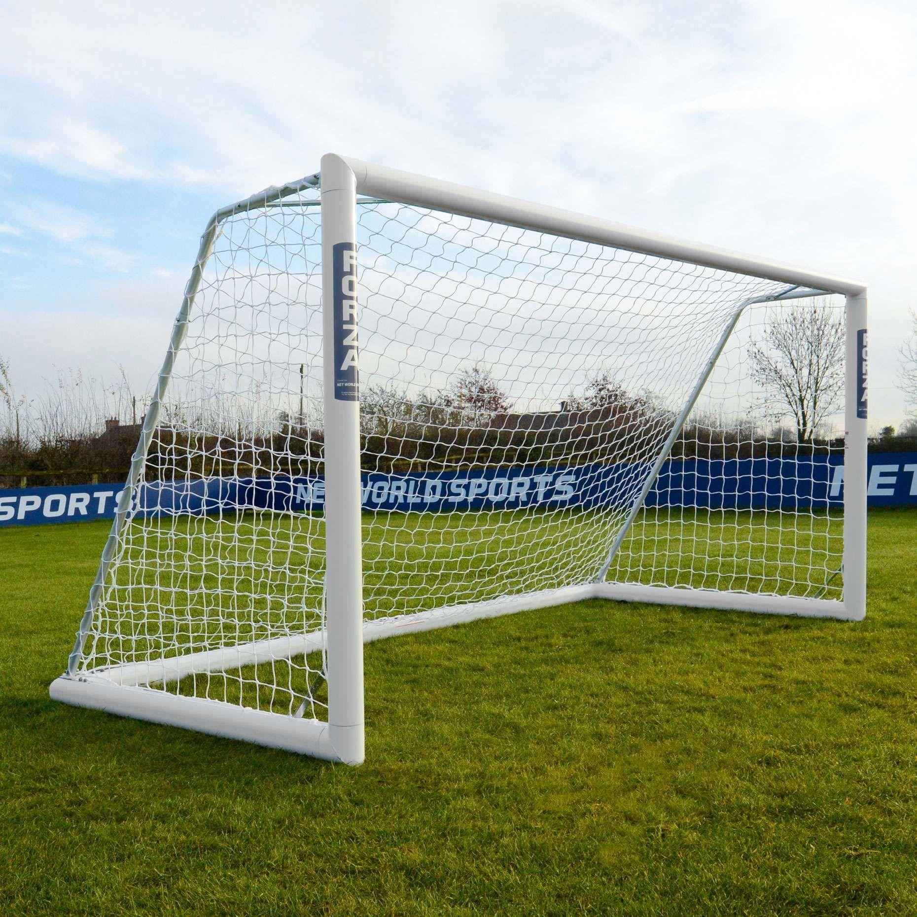 "Soccer Goals For Backyard Training Set of 2 Portable 4/""x3/"" Play Net Kids Sports"