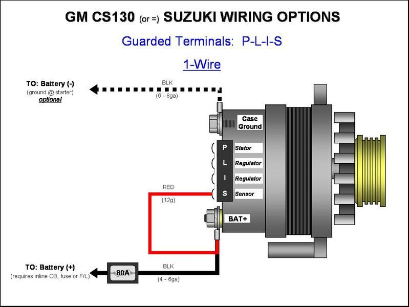 Gm Cs130 Plis 1 Jpg 799 600 With Images Automotive Electrical Alternator Working Alternator