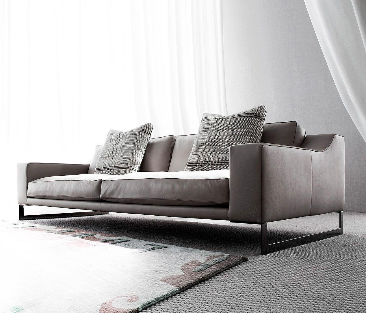 Indizio leather de Erba Italia | Canapés d\'attente | chilling chairs ...