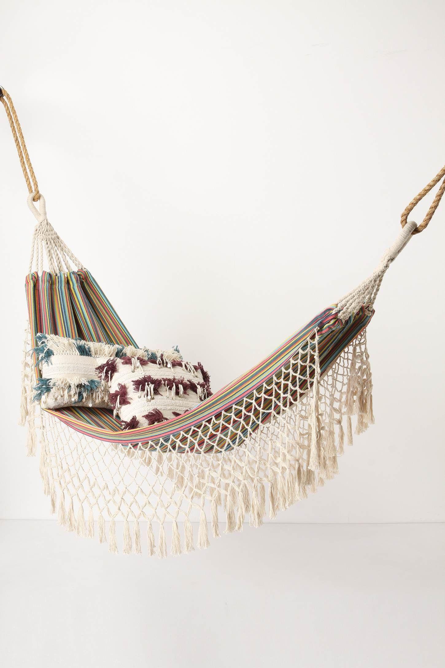 i want a hammock... in my room.