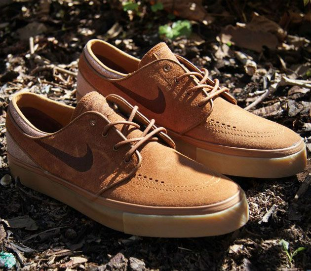3d95667d06b2fc Nike SB Stefan Janoski Low - Light British Tan   Dark Field Brown ...
