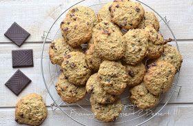 Fromage ou Dessert ? ... DESSERT !!!: Cookies au chocolat à tomber ! (sans MG et à index glycémique bas)