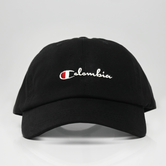 Colombia Champ Dad Hat - Black  86e8875fdf9