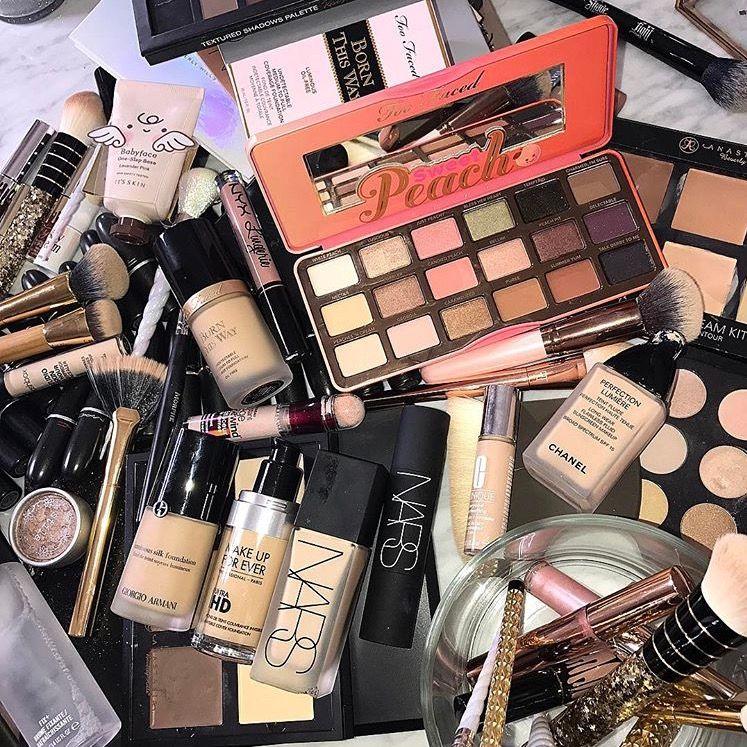 Pin By Emily Bushlack On C O S M E T I C S Makeup Haul Sephora Makeup Collection Expensive Makeup