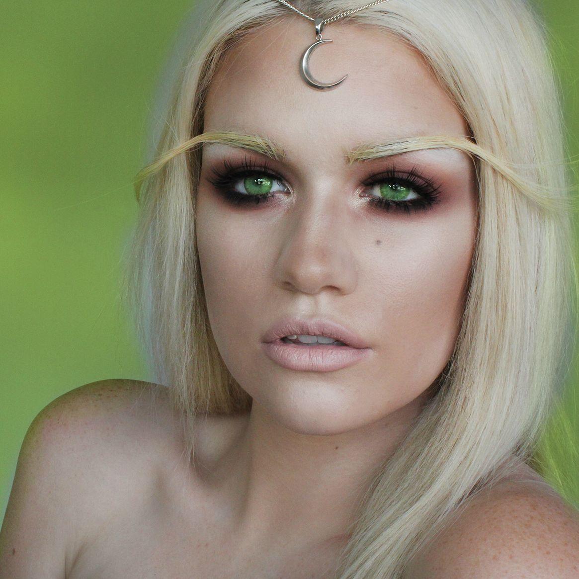Transformation Blood Elf Makeup! Elf makeup, Halloween