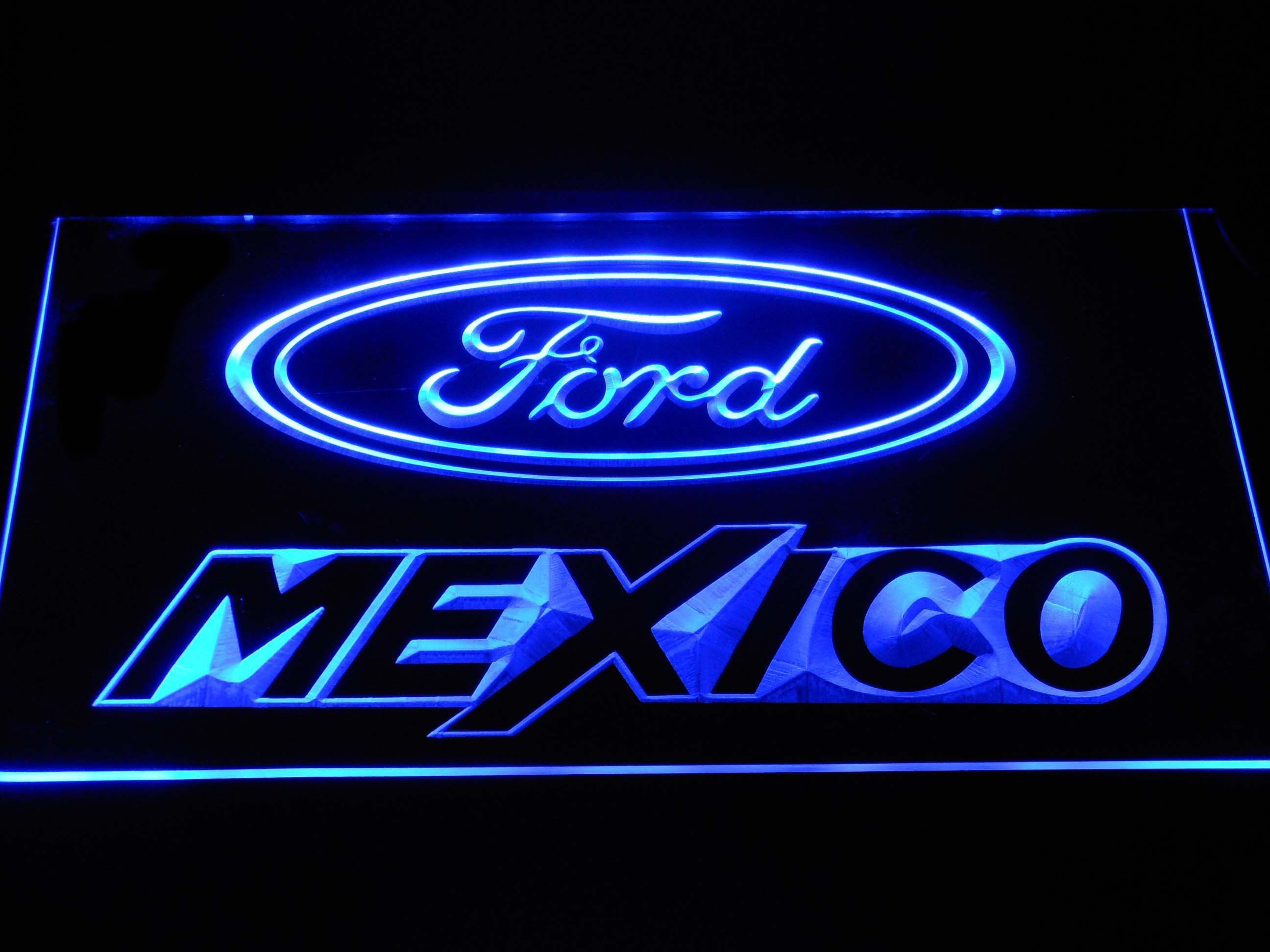 Ford Mexico Led Neon Sign Neon Signs Led Neon Signs Sign Display