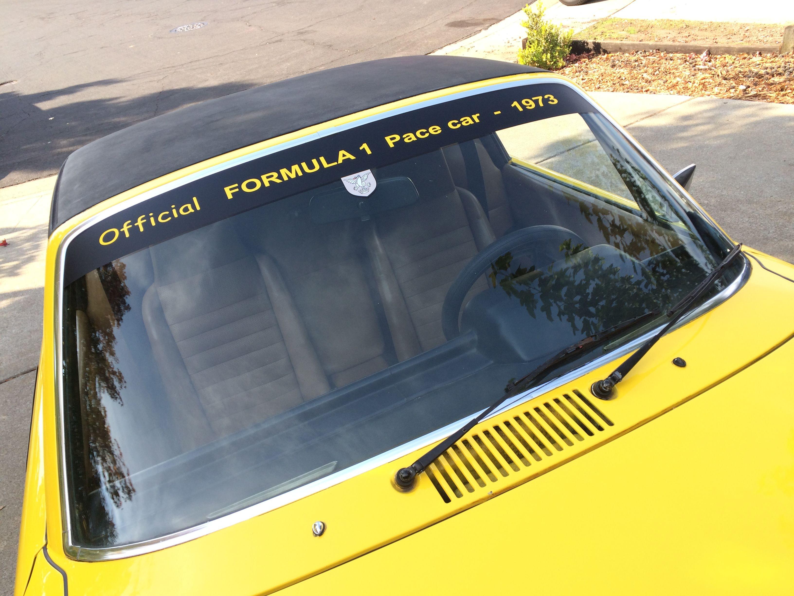 Pin by Brian Adkins on 1973 Porsche 914 Formula 1