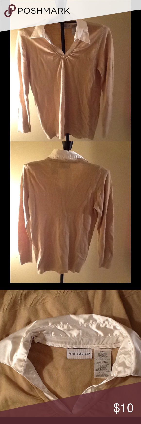 Ladies layered look blouse | Ea, Colors and Tans