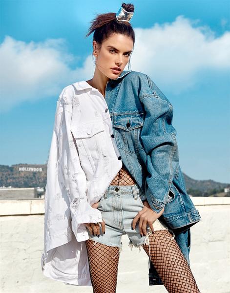 5633d0d7 Denim em novas formas de vestir é destaque da Harpers Bazaar - Notícias :  Na mídia