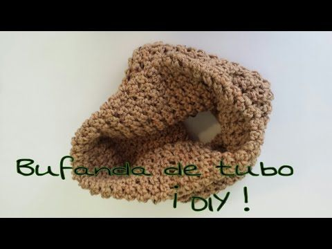 Cuello Circular a Crochet/ Punto Puf (Subtitulado Español) I ...