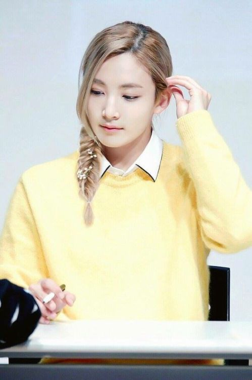This Exists A Fan Braided Jeonghan S Hair Seventeen