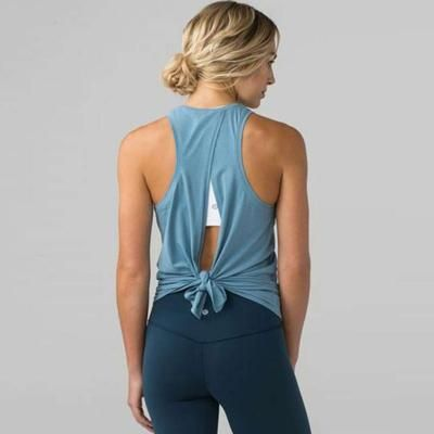 Wear it high or low, feel the breeze and look great! Tied Back Top on sale now! Size(in) Bust Lengt...