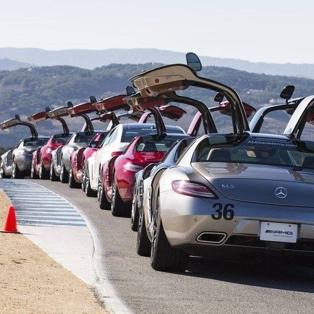 Experience the full force of six track-ready AMG vehicles during an unforgettable day at the @USAMGAcademy. Enter for a chance to win by following the link in our bio. #Mercedes #Benz #SLS #AMG #instacar