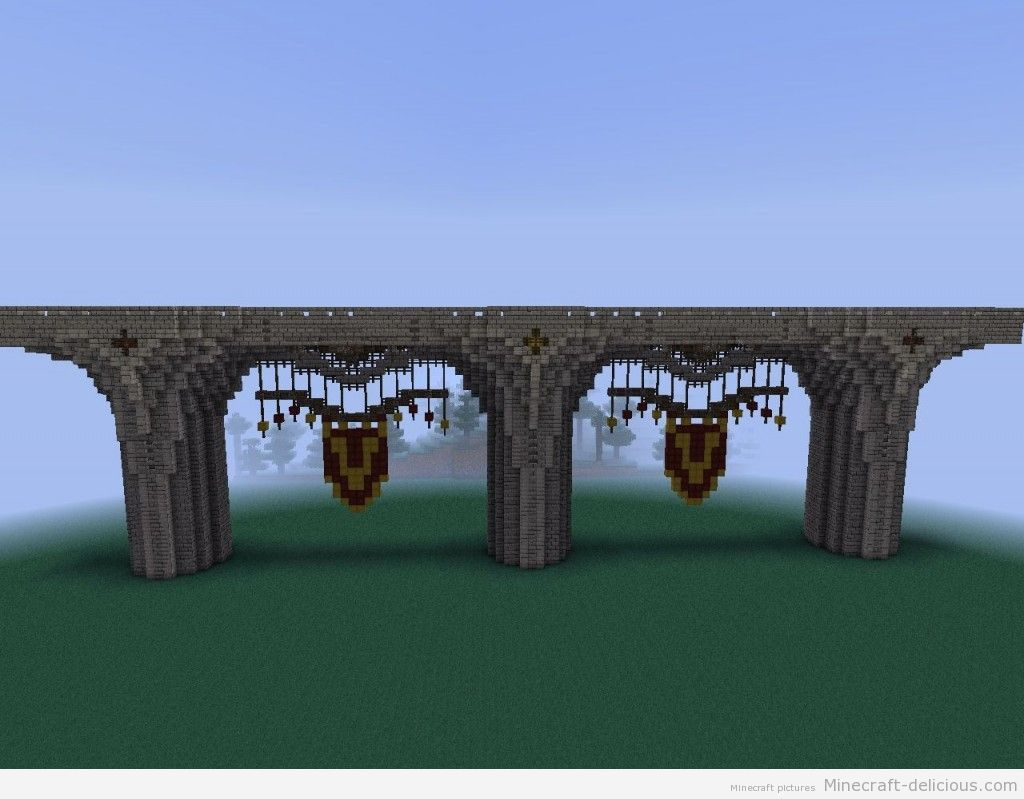 minecraft bridge - minecraft build | minecraft delicious