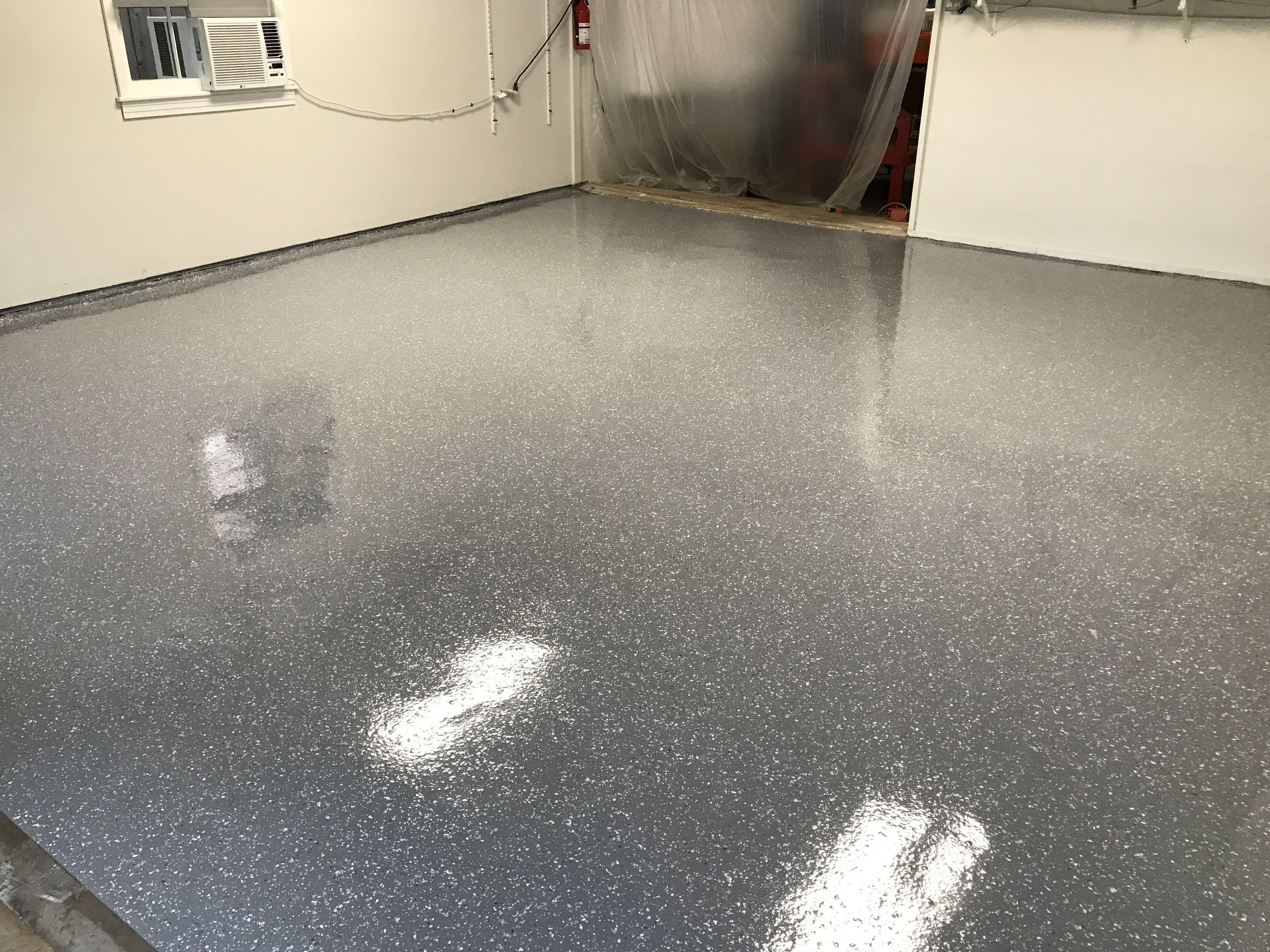 Basic Moonstone Polyaspartic Epoxy Garage Floor Garage Floor Epoxy Flooring Floor Coating