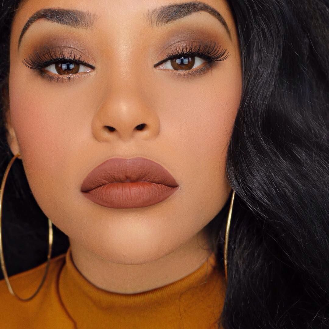 Pinterest hailcab Brown makeup, Brown makeup looks
