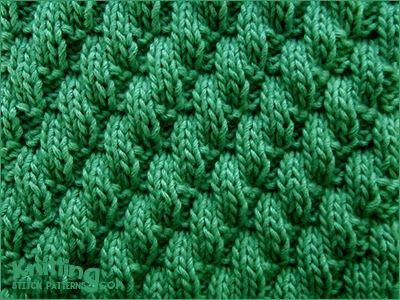 Broken Diagonal Rib Knit Purl Stitch Combinaltions Knitting