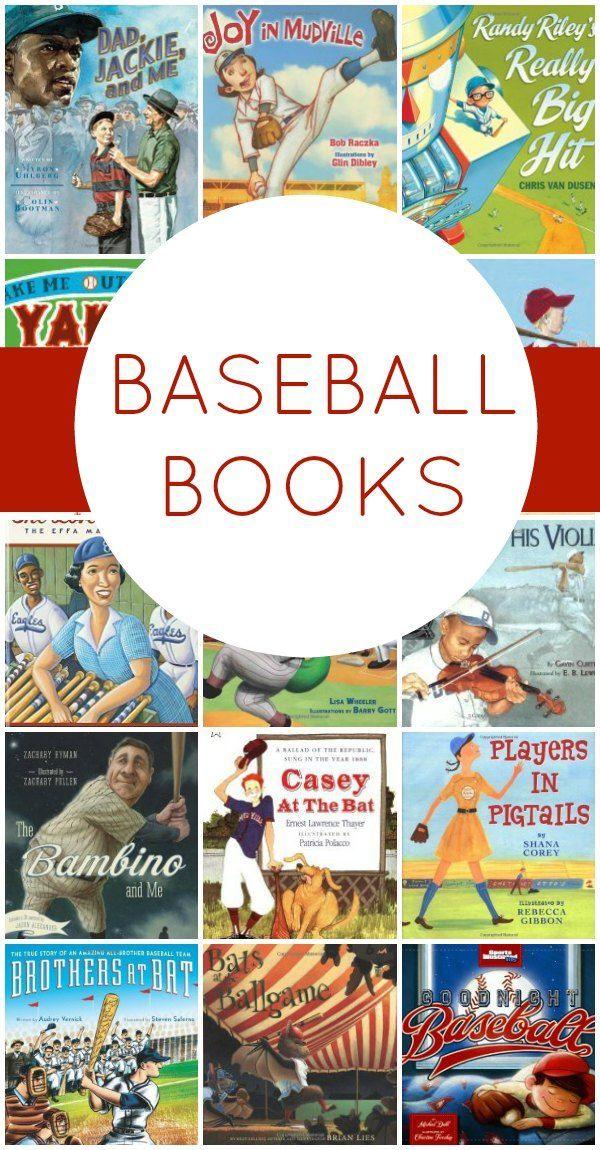 Baseball Books Books for boys, Baseball, Books