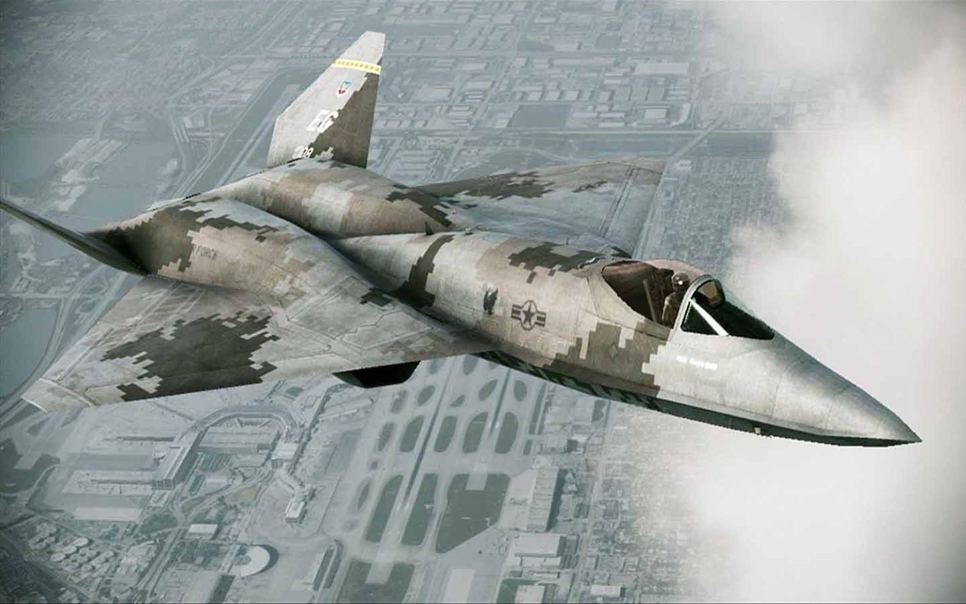 Yf 23 Black Widow Ii Ace Combat Assault Horizon Ace Combat