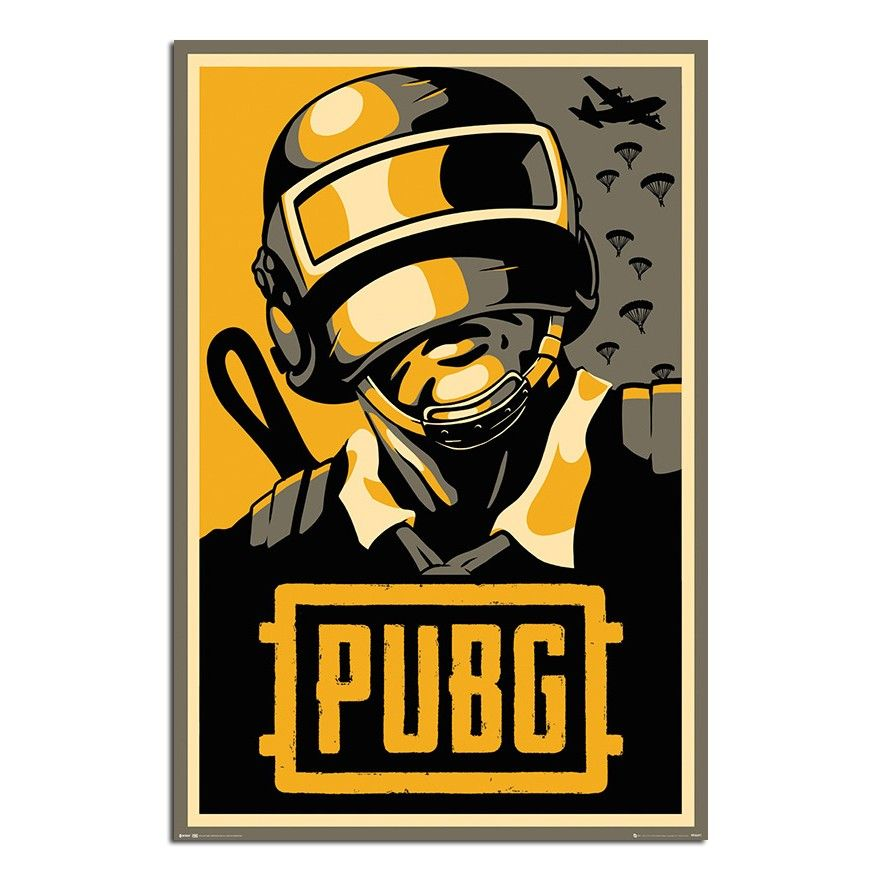 PUBG Playerunknown's Battlegrounds Hope Poster iPosters