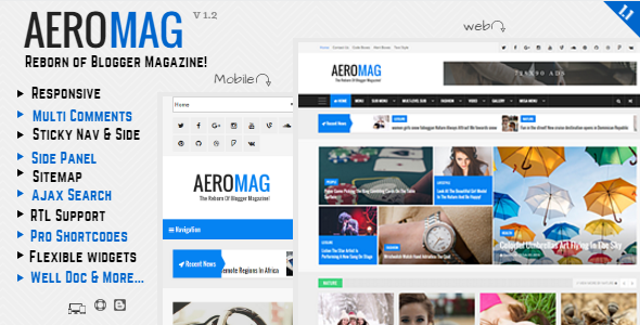 Aeromag news magazine responsive blogger template template aeromag news magazine responsive blogger template pronofoot35fo Images