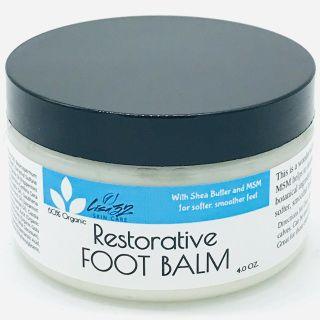 Restorative Foot Balm | Lisa32 Skin Care - Skin, Bath and