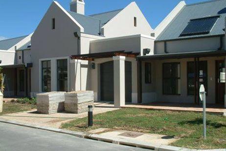 Modern cape dutch | Dutch house, Gable roof design, House ...