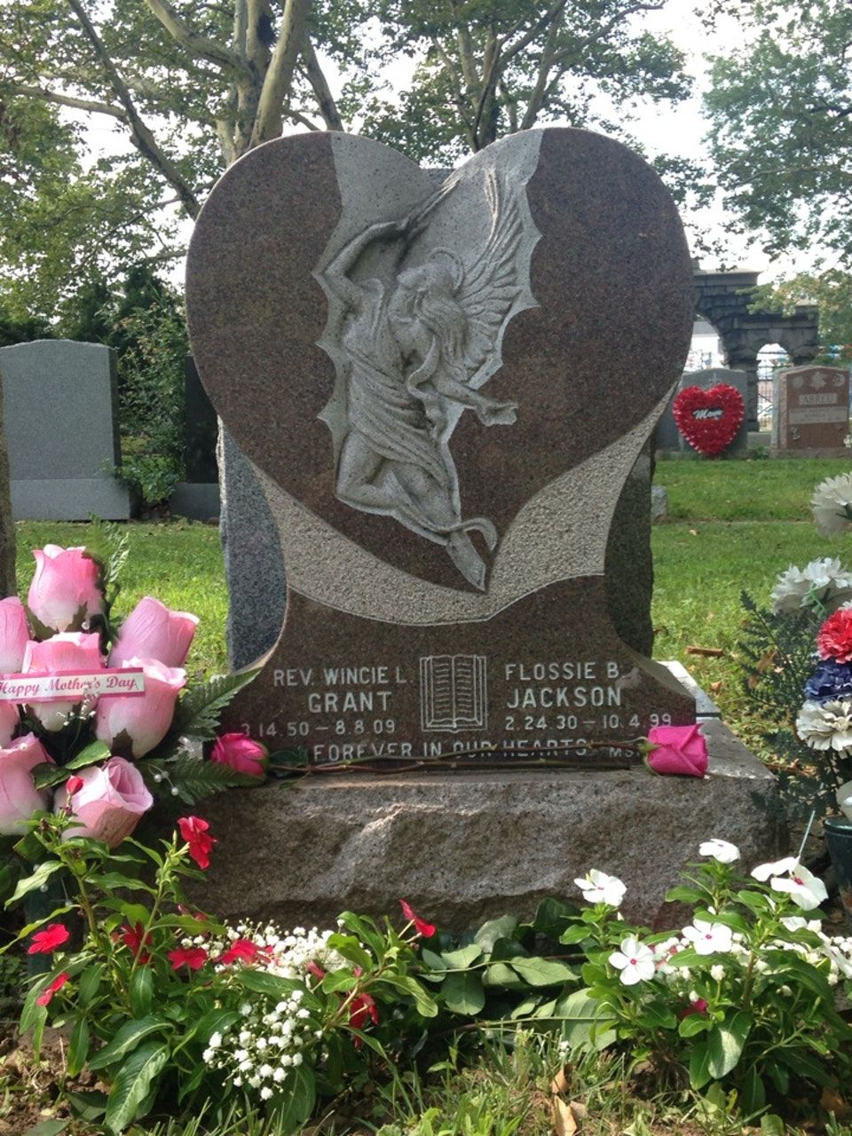 Memorial at the bayview cemetery greenville jersey city