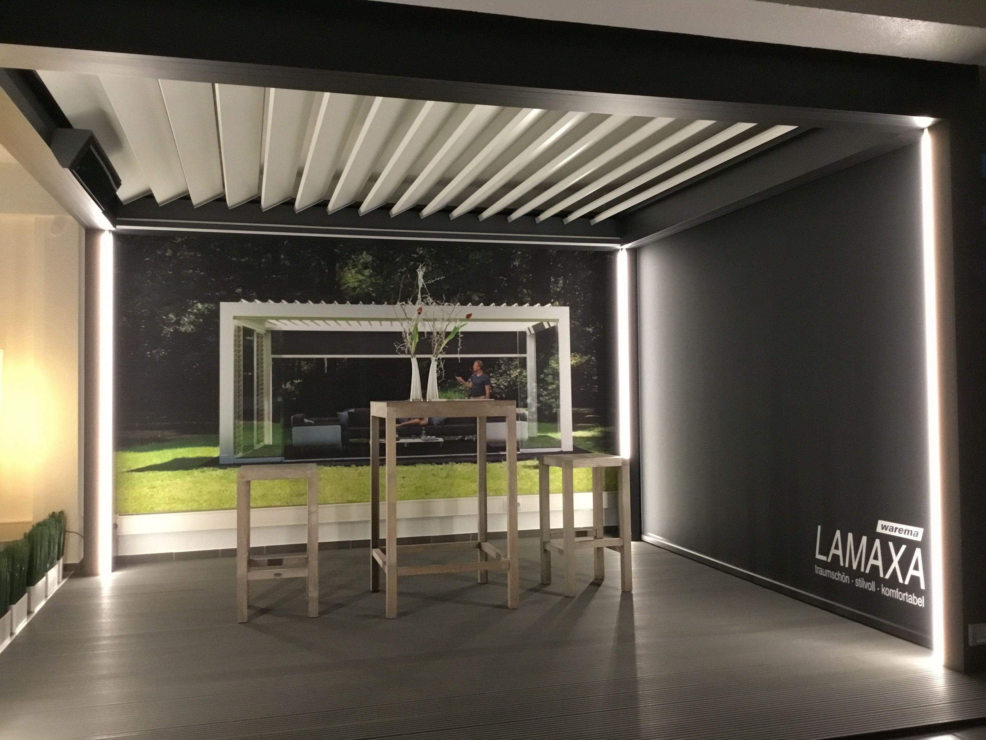 Die Neue Lamaxa Von Warema In 2020 Terrassen Dach Terrassendach Glashaus