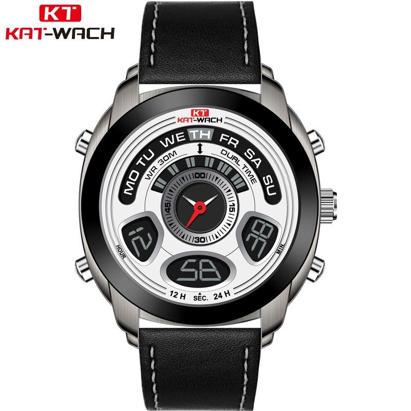 4cab2ab7b KAT-WACH Men's Watch Luxury Brand G Style Men's Military Sports Watch LED  Digital Watch Waterproof Men's Watch Relogio Masculino